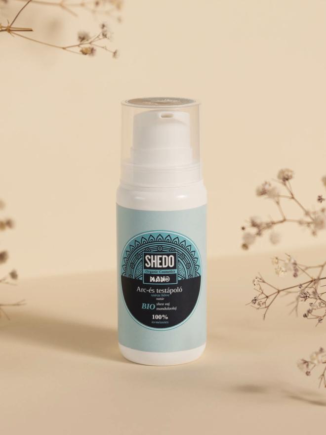 SHEDO Manó Arc- és testápoló száraz bőrre natúr